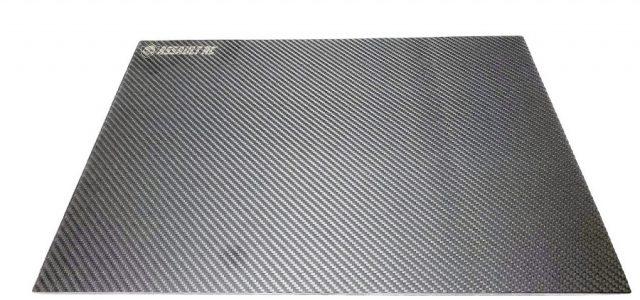 Assault RC Laser Level Carbon Fiber Pit Board