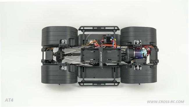 Cross RC AT4 EMO 4x4 1/10 RTR & Kit