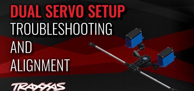 Dual Servo Setup Troubleshooting & Alignment For The Traxxas E-Revo & Summit [VIDEO]