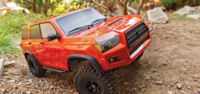 Element Enduro Trailrunner 4×4 RTR With Fire Body