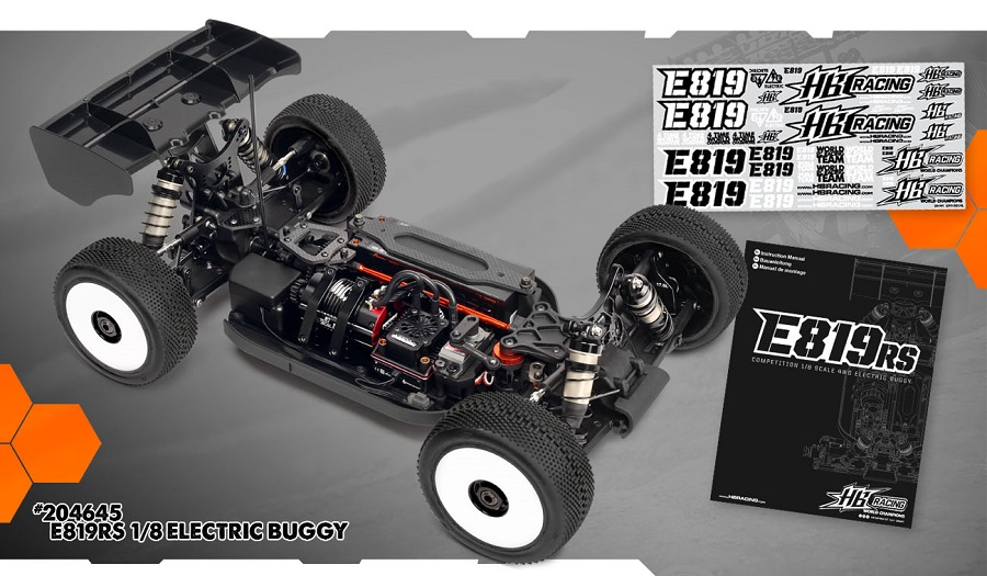 HB Racing E819RS 1/8 Electric Off-Road Buggy