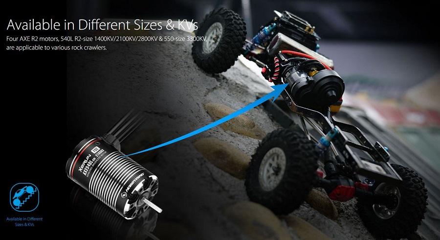 HOBBYWING XeRun AXE R2 Motor