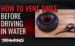 How To Vent Tires Before Running In Water [VIDEO]