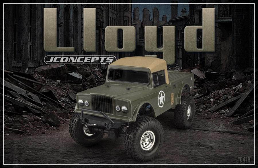 JConcepts JCI M117 Lloyd Clear Body