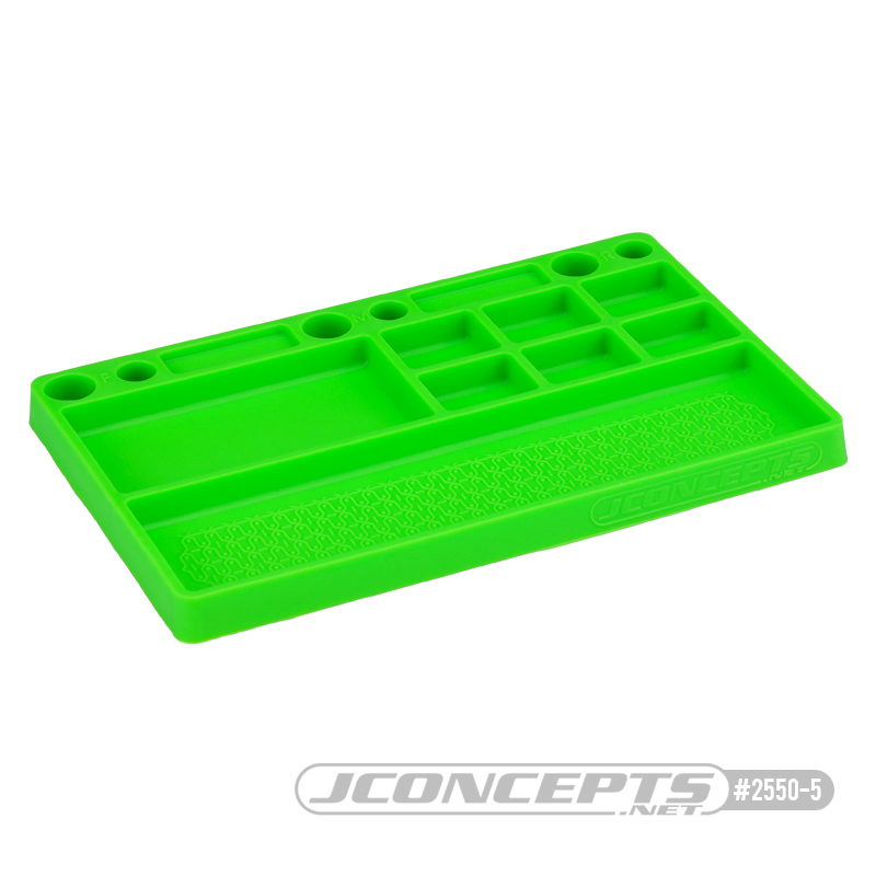 JConcepts Rubber Parts Tray Now Available In White, Pink & Green