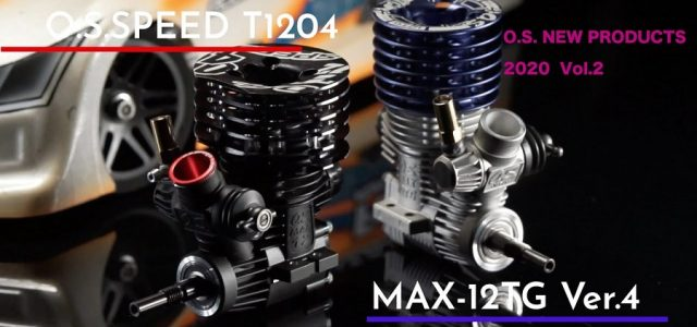 O.S. Engine New Products For 2020 Vol. 2 [VIDEO]