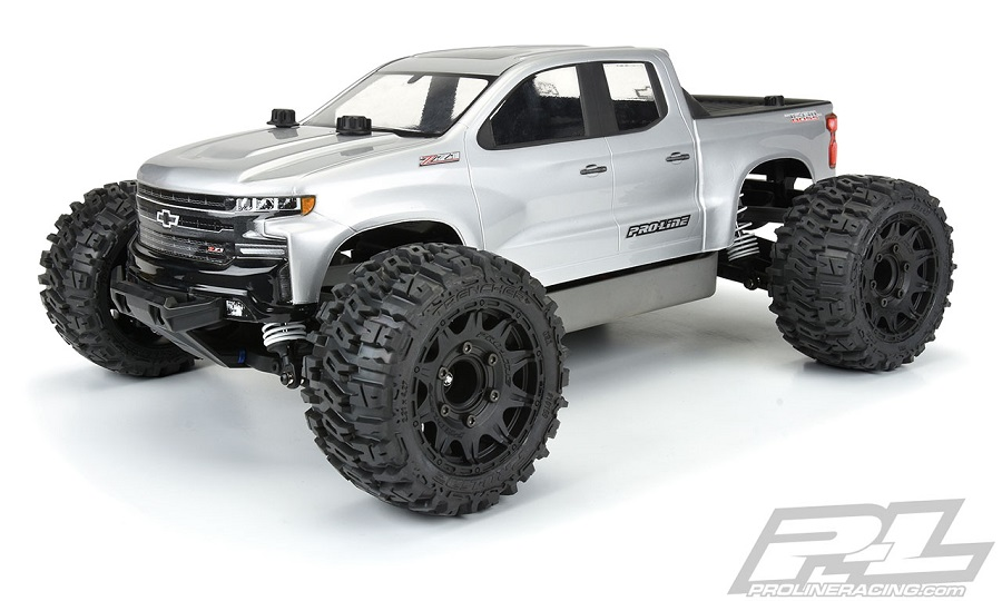Pro-Line Extended Front and Rear Body Mounts For The Traxxas Rustler 4x4