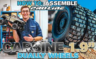 Pro-Line HOW TO: Assemble Carbine 1.9″ Internal Bead-Loc Dually Wheels [VIDEO]