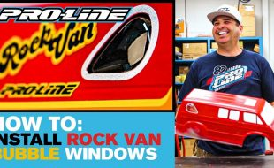 Pro-Line HOW-TO: Install 70's Rock Van Bubble Windows [VIDEO]