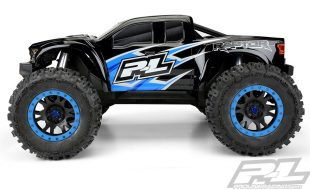 Pro-Line Pre-Cut 2017 Ford F-150 Raptor Tough-Color (Black) Body
