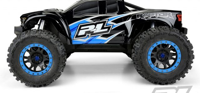 Pro-Line Pre-Cut 2017 Ford F-150 Raptor Tough-Color (Black) Body