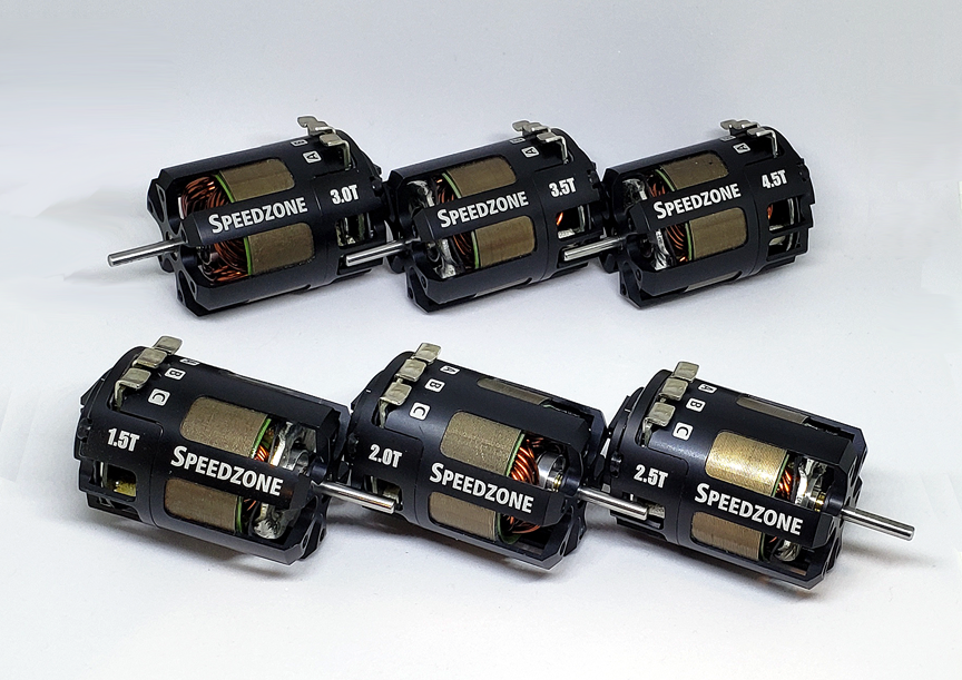 Speedzone Line of Drag Racing Motors