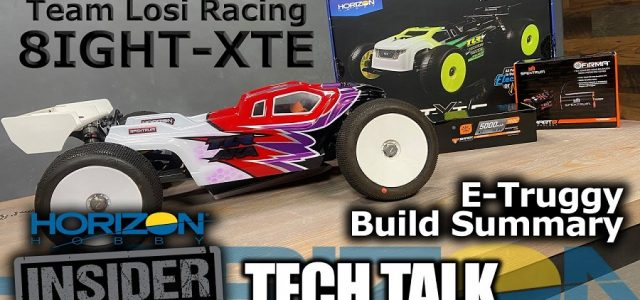 TLR 8IGHT-XTE 1/8 E-Truggy Build Summary – Horizon Insider Tech Talk [VIDEO]