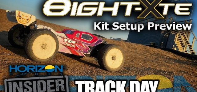 TLR 8IGHT-XTE – 1/8 E-Truggy Race Kit – Horizon Insider Track Day [VIDEO]