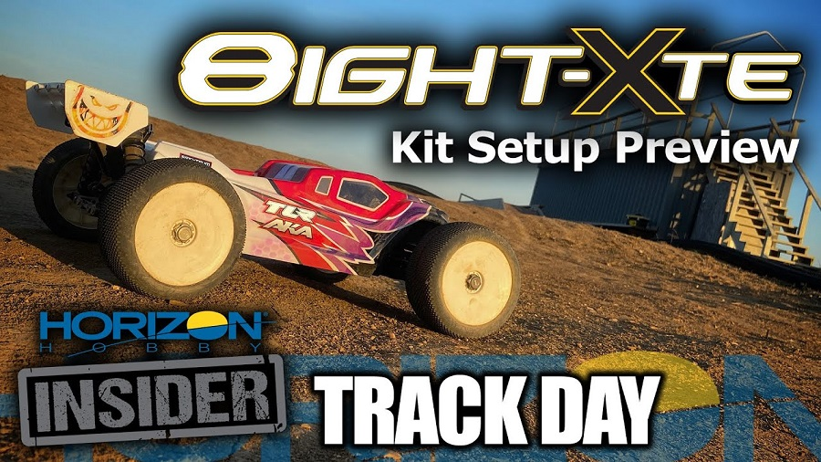 TLR 8IGHT-XTE - 1/8 E-Truggy Race Kit - Horizon Insider Track Day
