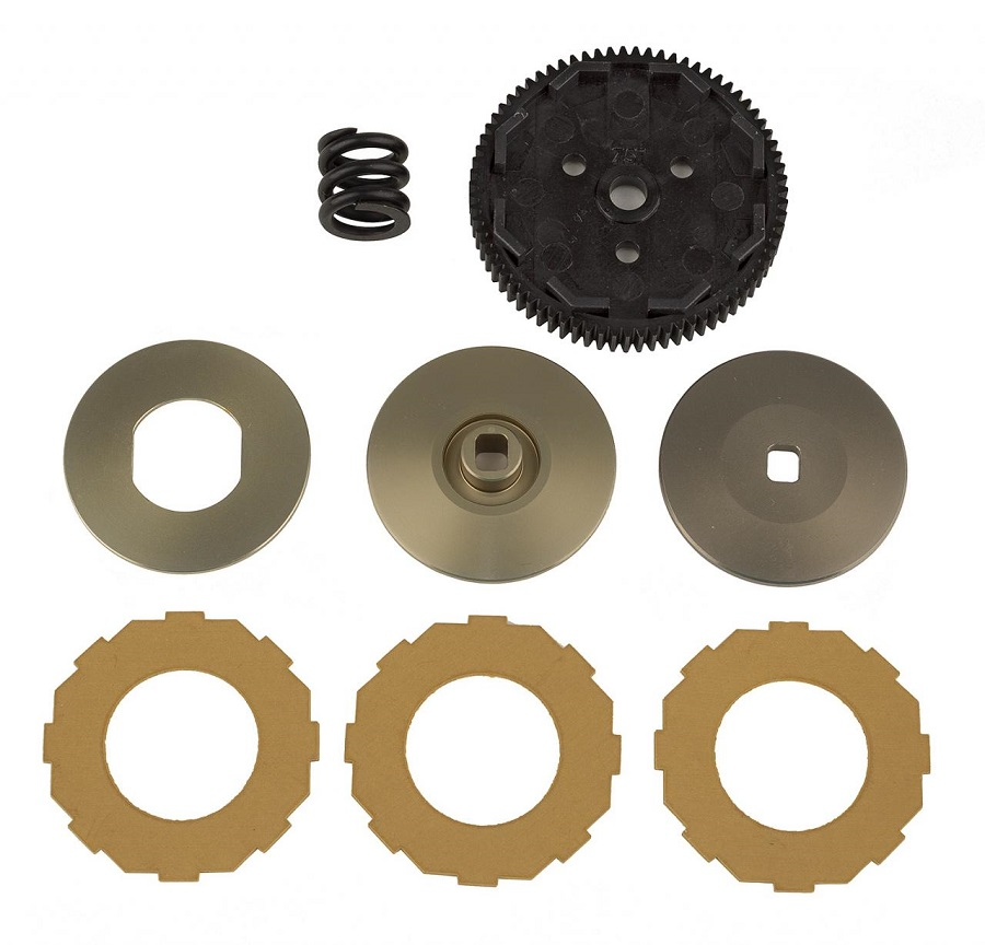 Team Associated Drivetrain Parts For The RC10B74.1 &RC10B74.1D