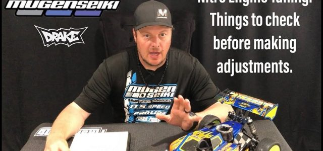 Tuning Nitro Engines With Mugen's Adam Drake [VIDEO]