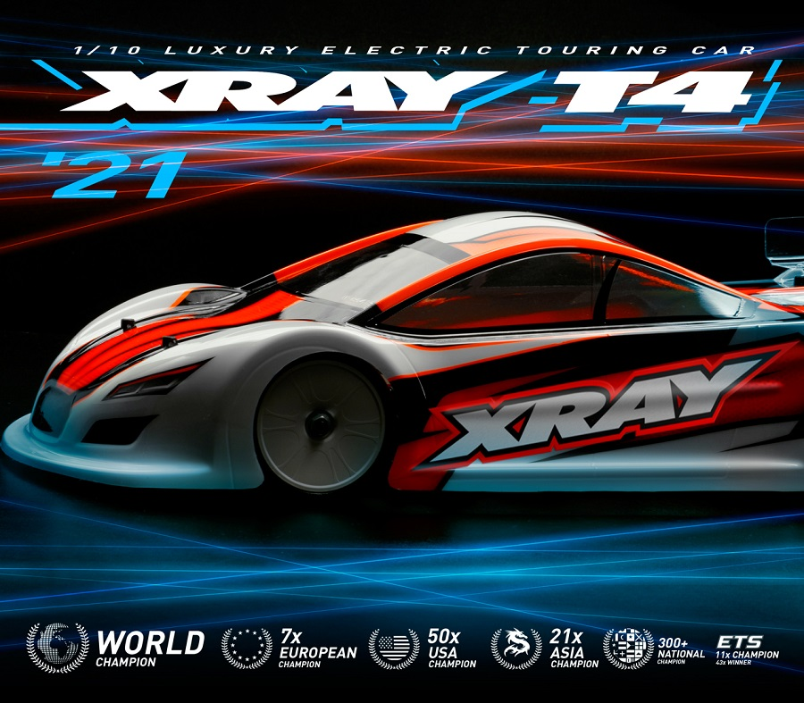 XRAY T4 '21 1/10 Electric Touring Car