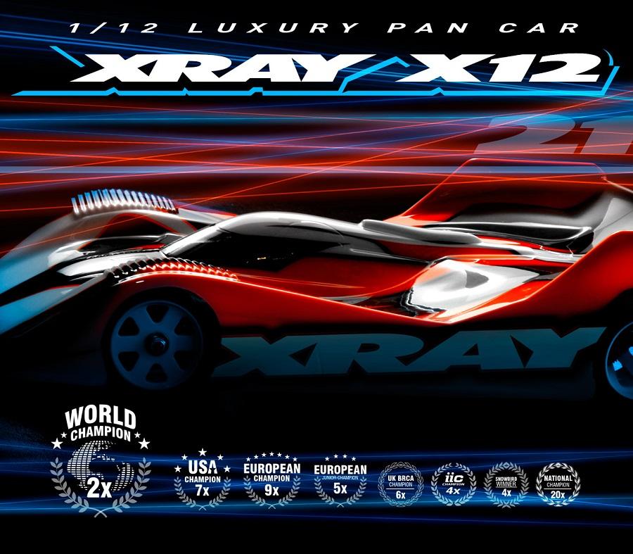 XRAY X12 '21 1/12 Pan Car