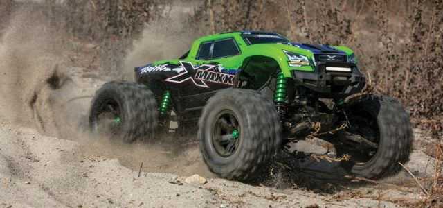 Controlled Chaos – Terraforming Terrain  With The Traxxas X-Maxx