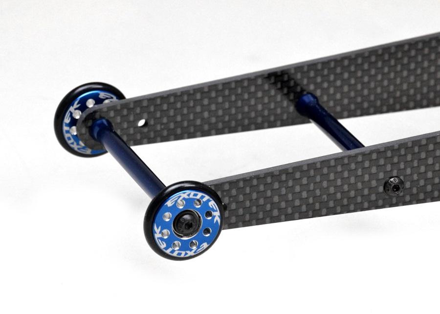 Exotek Double Ladder Wheelie Bar Set For The Traxxas Slash