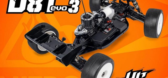 HB Racing D8T Evo3 1/8 Nitro Truggy Kit