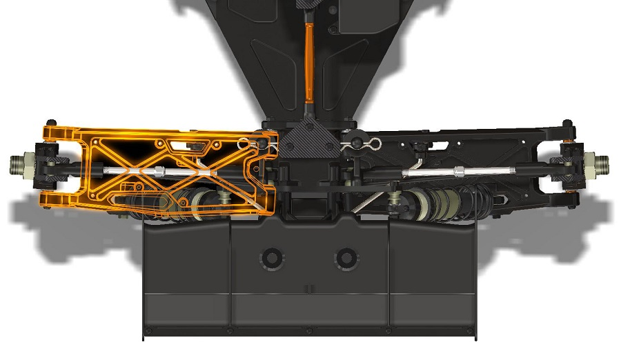 HB Racing E8T EVO3 1/8 Electric Truggy Kit