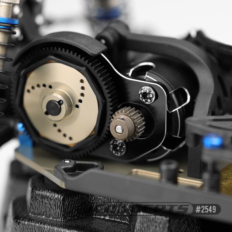 JConcepts Titanium Finnisher 3x6mm Motor Screws