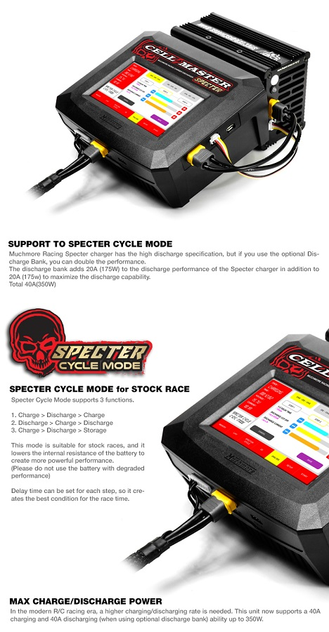 Muchmore Cell Master SPECTER Discharge Resist Bank