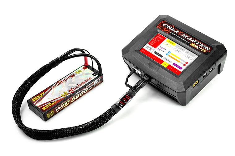 Muchmore Volt Meter 2S Balance Charging Lead