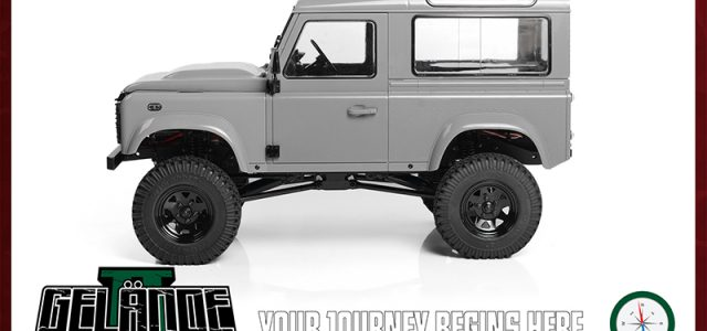 RC4WD Gelande II Kit With 2015 Land Rover Defender D90 Hard Body Set [VIDEO]