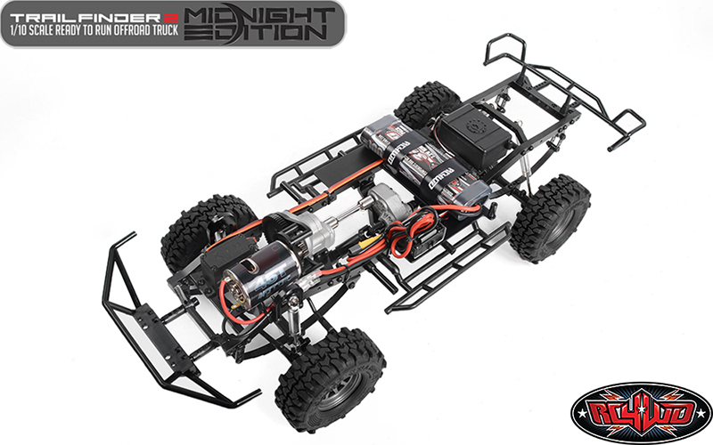 RC4WD Trail Finder 2 RTR With Mojave II Body Set (Midnight Edition)