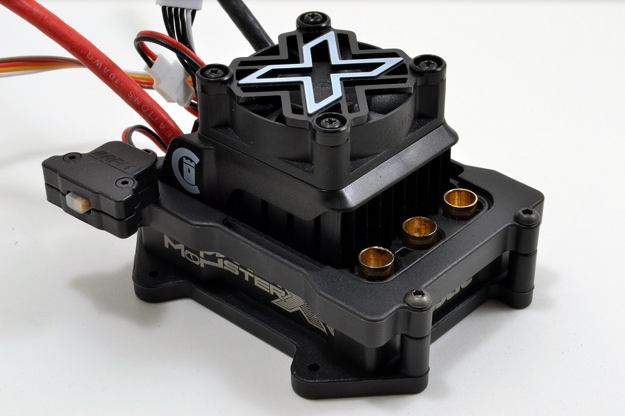 RPM ESC Cage For The Castle Mamba X 8S ESC