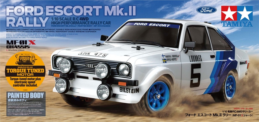 Tamiya Ford Escort MK. II Rally