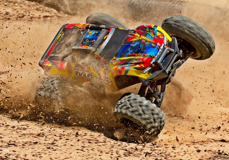 Traxxas Maxx Now Available With New Solar Flare Paint Scheme