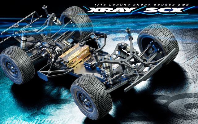 XRAY SCX 110 2WD Short Course Truck