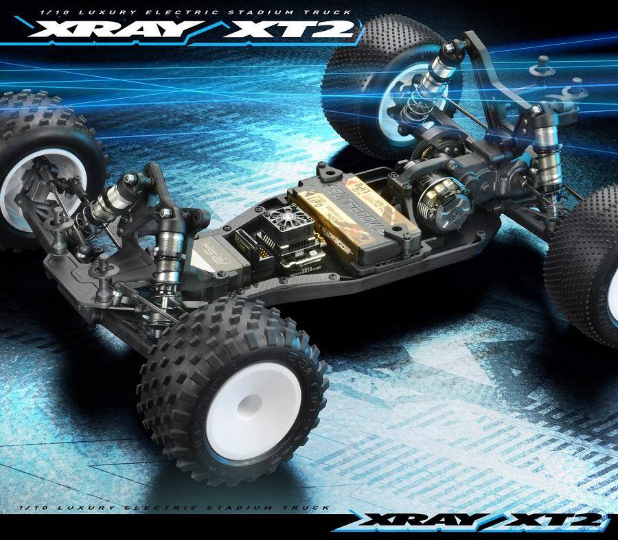 XRAY XT2 '21 Stadium Truck