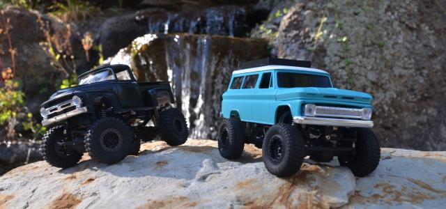 1/24 60's Trail Trucks