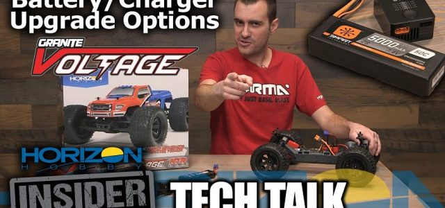 ARRMA GRANITE VOLTAGE Battery & Charger Upgrade Options [VIDEO]