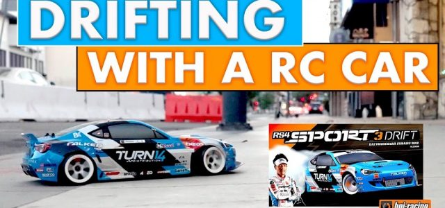 Dai Yoshihara Talks About The HPI Racing RS4 Sport 3 Drift [VIDEO]
