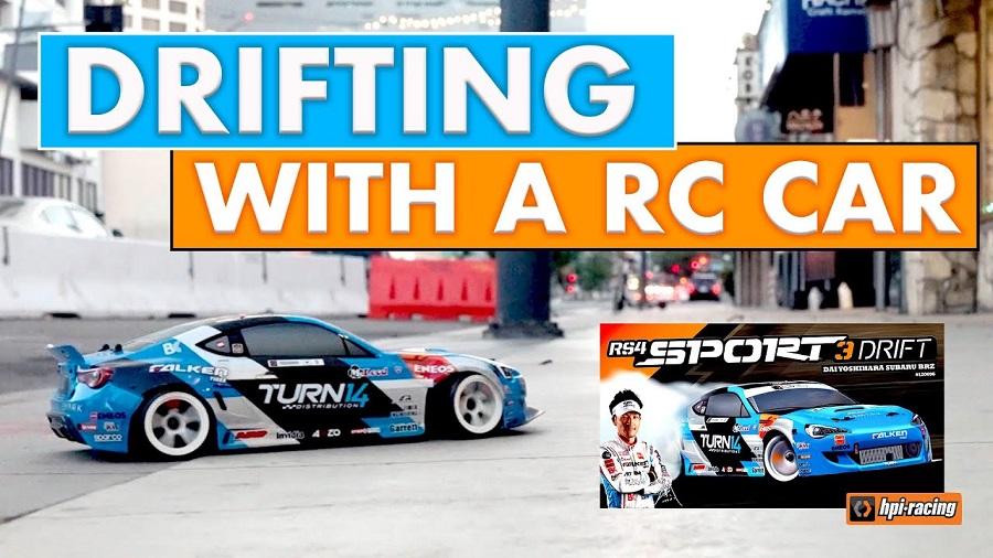 Dai Yoshihara Talks About The HPI Racing RS4 Sport 3 Drift