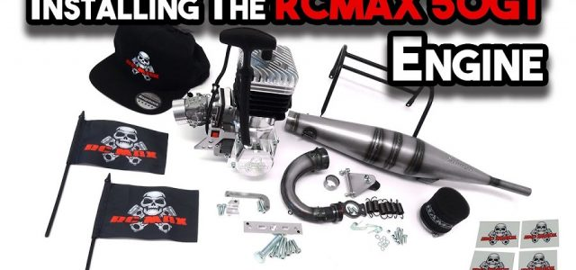 How To Install The RCMAX 50GT Engine In The Primal Raminator [VIDEO]