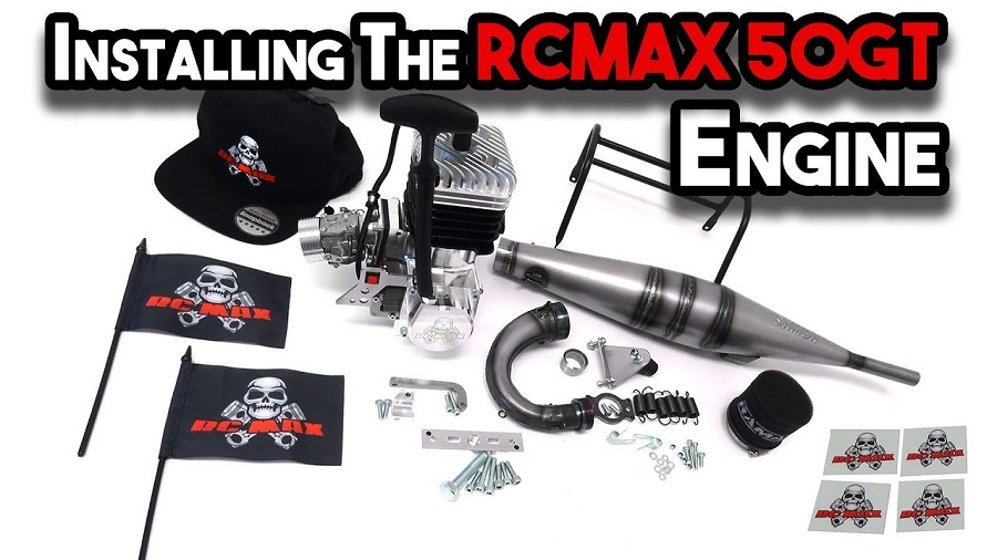 How To Install The RCMAX 50GT Engine In The Primal Raminator