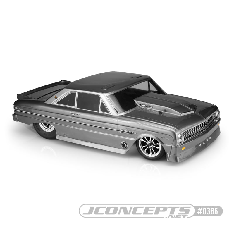 JConcepts 1963 Ford Falcon Street Eliminator Clear Body