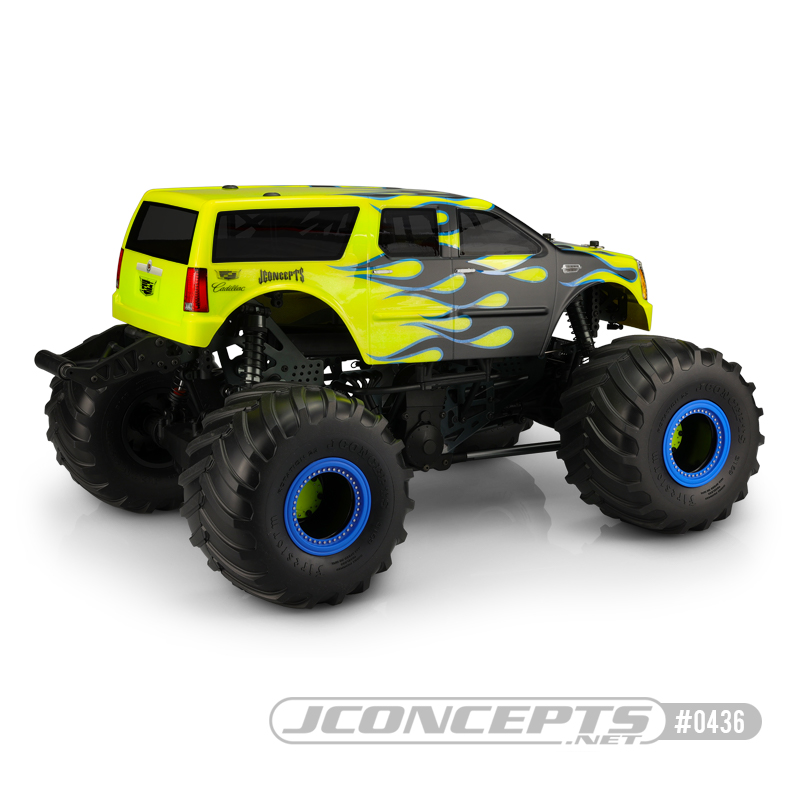JConcepts 2007 Cadillac Escalade Clear Monster Truck Body
