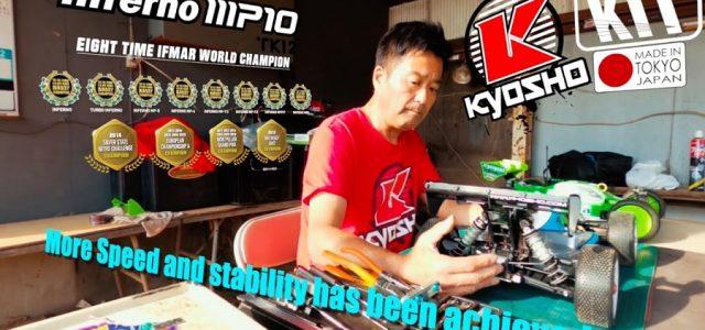 KYOSHO INFERNO MP10 TKI2 Tech Talk [VIDEO]