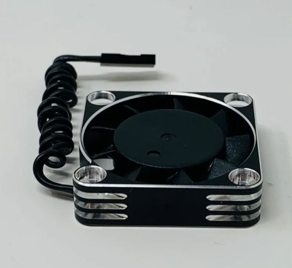 McAllister Racing 40mm Cooling Fan With Aluminum Case