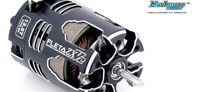 Muchmore FLETA ZX V2 ER Spec Brushless Motors With MR-FZR21XR V2 Spec Rotor