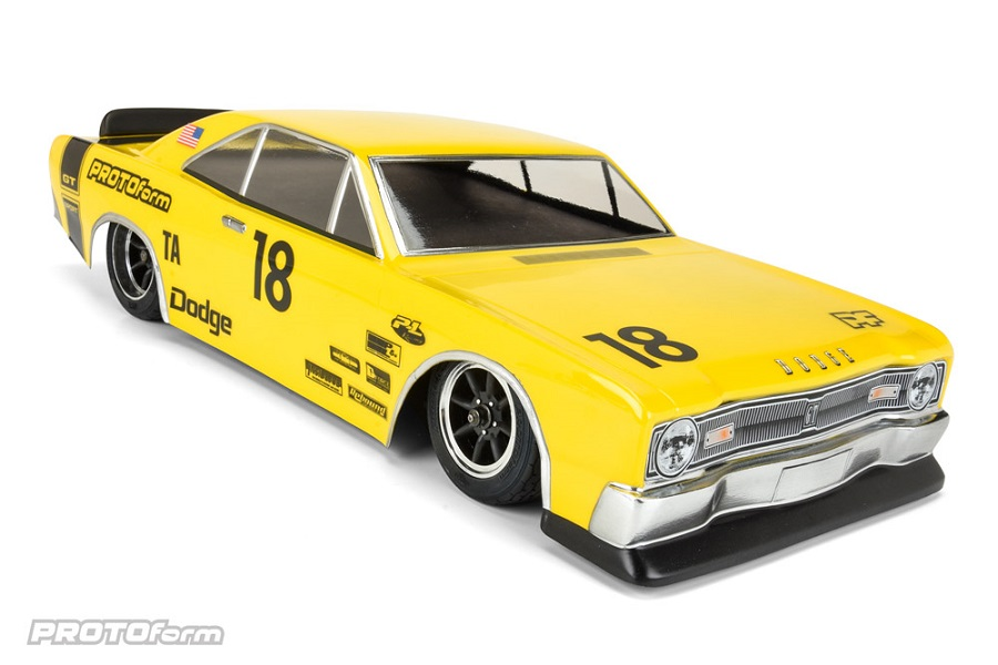 PROTOform 1967 Dodge Dart Clear Body