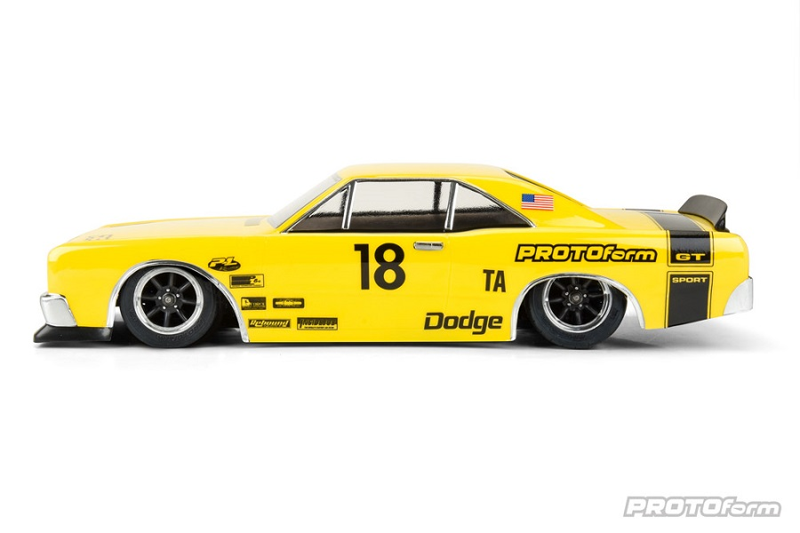 PROTOform 1967 Dodge Dart Clear Body